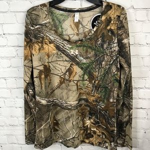 UA Realtree Fitted Top